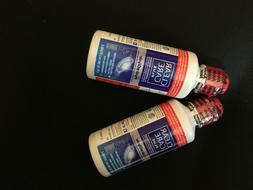 4 pack LOT 3 oz Clear Care Plus HydraGlyde Hydrogen Peroxide