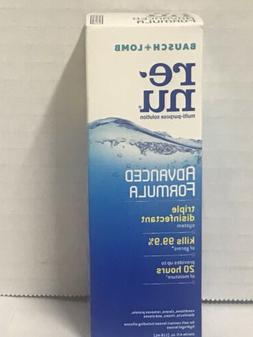 6 Renu Contact Lens Solution 4oz Advanced Formula Multi Purp