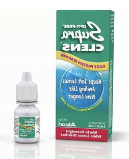 alcon sterile supra clens daily protein remover