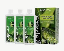 Avizor Alvera Multipurpose Solution with Aloe Vera 3 x 240ml