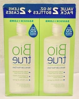 "Bausch & Lomb ""BIO TRUE"" Value Pack:  16 Oz. Bottles +"