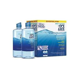 Bausch + Lomb ReNu Contact Solution for Soft Lenses, Twin Pa
