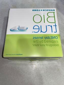 Biotrue ONEday Bausch + Lomb Daily Lenses~2 Boxesof 90~EXPIR