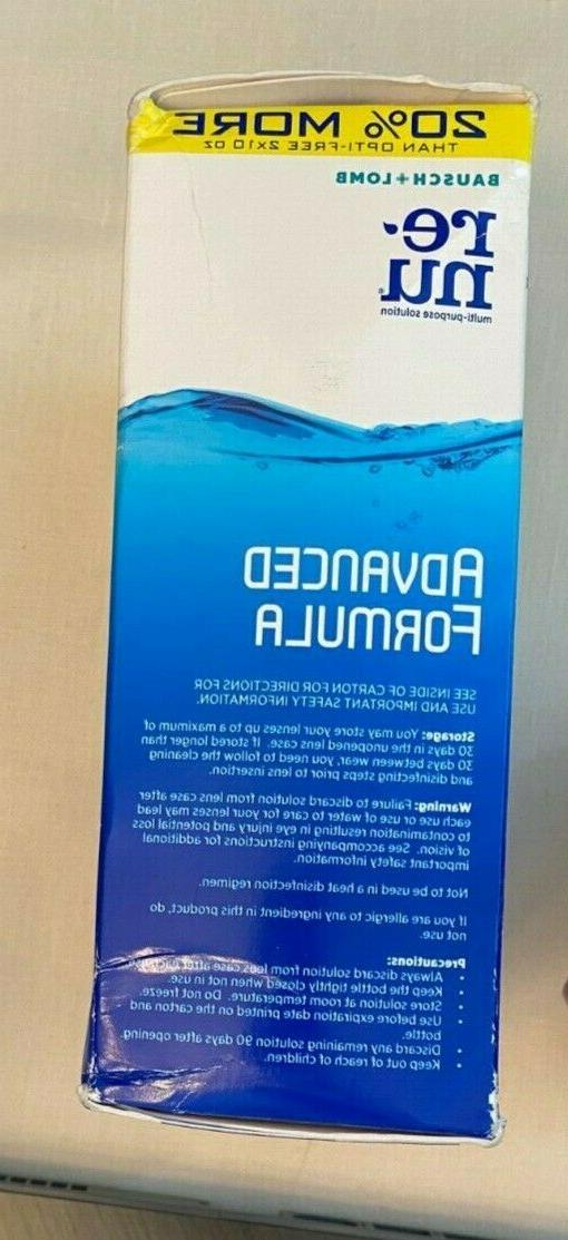 2 bottles multi-purpose solution contact