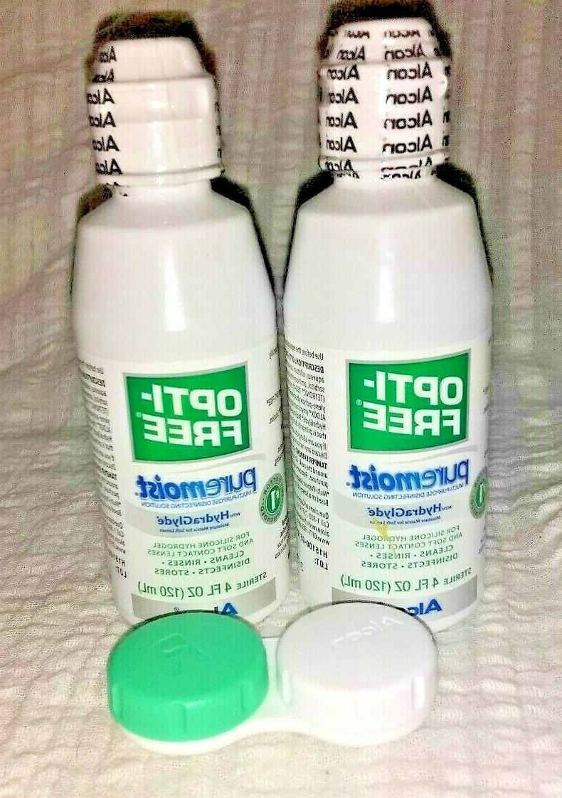 2 opti free pure moist hydraglyde contact