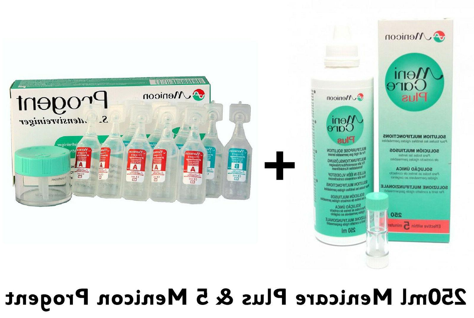 250ml menicare plus contact lens solution 5
