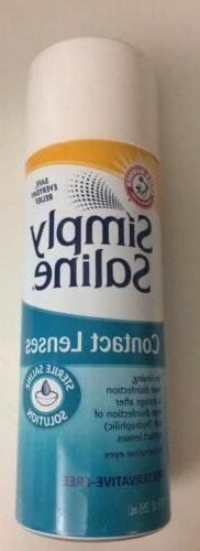 Arm & Hammer Simply Saline Contact Lens Sterile Solution 12