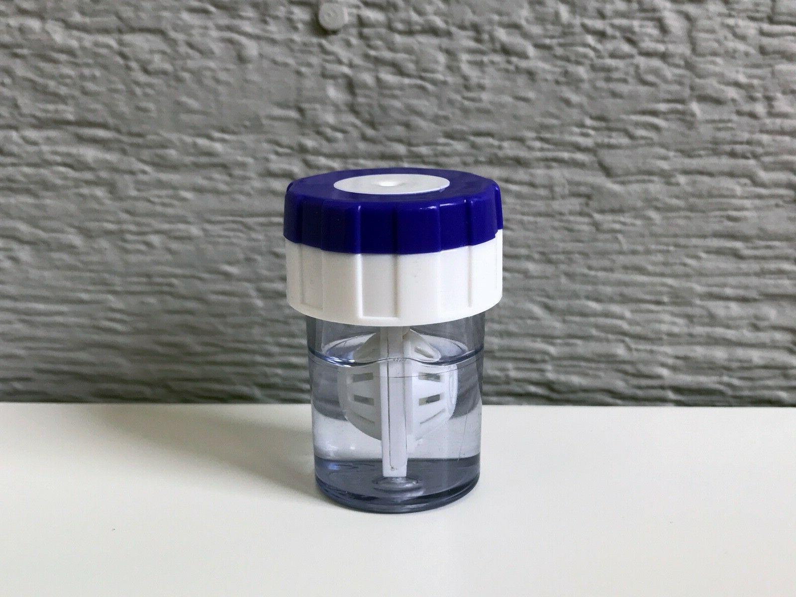 Contact Lens Cleaner Solution Manual Washer Container