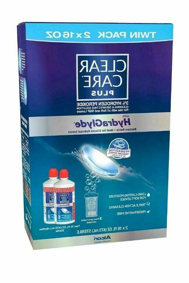contact lens cleaner deep cleaning disinfecting solution