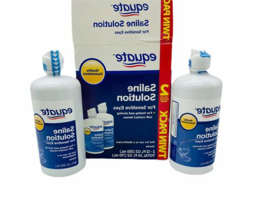 contact lens saline solution for sensitive eyes