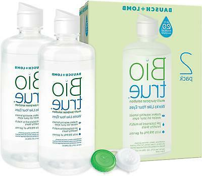contact lens solution for soft contact lenses
