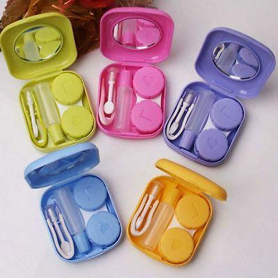 mini easy carry tweezers solution bottle mirror