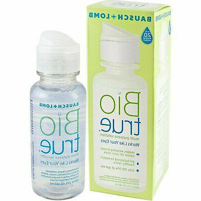 multi purpose contact lens solution 20 hours