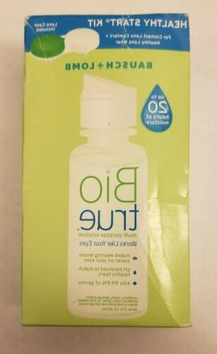 new bausch lomb biotrue contact lens solution