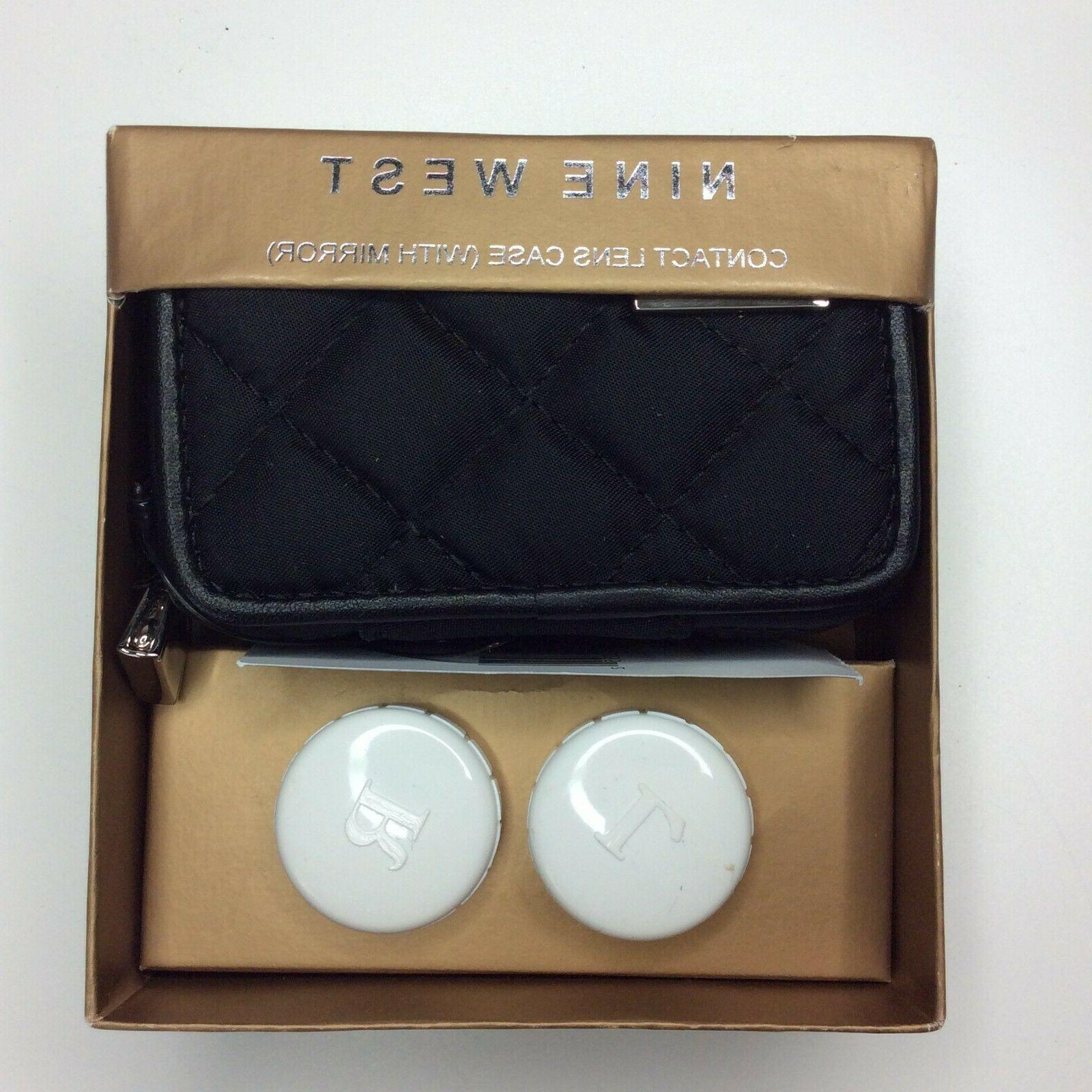 new contact lens case with mirrors quilted