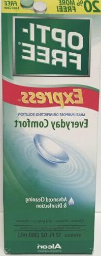 Opti-Free Express Contact Lense Multi-purpose Disinfecting S