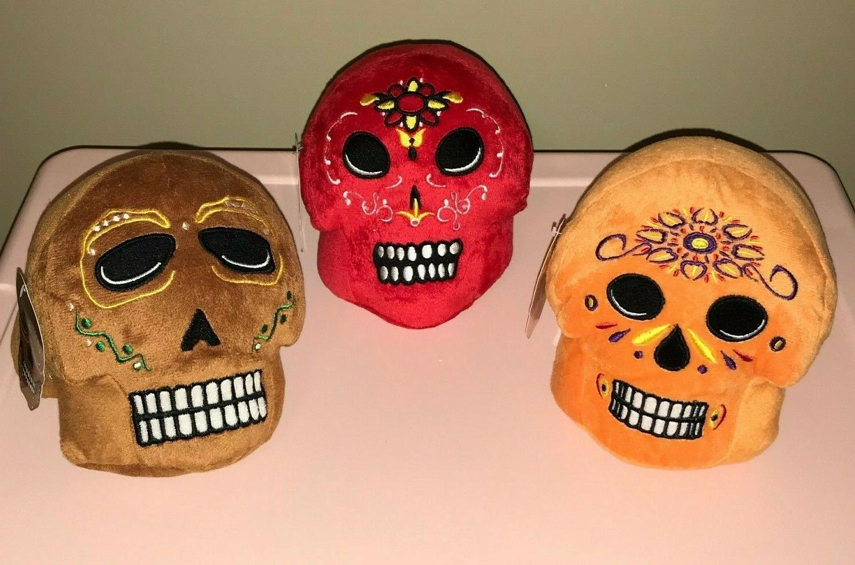 sugar skull day of the dead plush