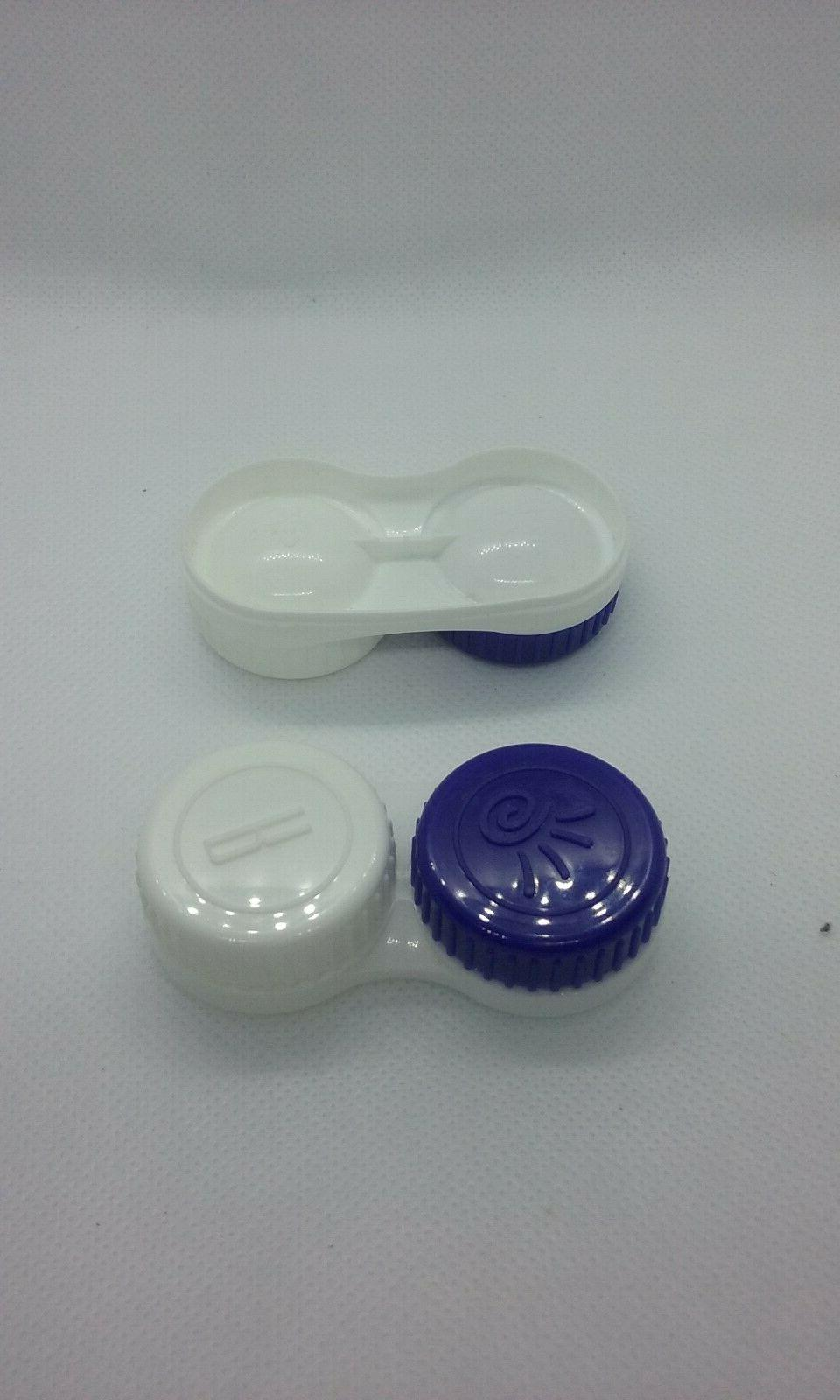 two contact lens case solution holder small
