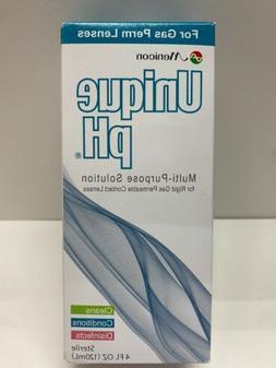 Menicon Unique pH Multi-Purpose Solution + RGP Lens Case, ON