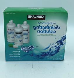Kirkland Signature Multi-Purpose Disinfecting Solution 3Bott