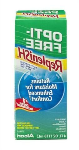 Opti-Free Replenish Multi-Purpose Disinfecting Solution, 4 f