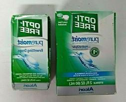 OptiFree PureMoist Rewetting Drops + Multipurpose Disinfecti