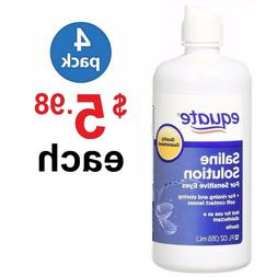 Sensitive Eyes Contact Lens Saline Solution, for Rnsing - 12
