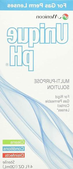 Menicon Unique pH Multi-Purpose Solution with RGP Lens Case,